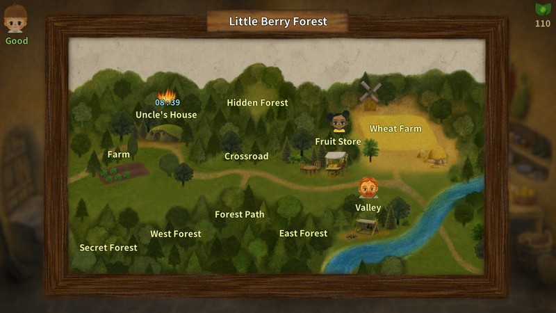 A Tale of Little Berry Forest: Fairy tale