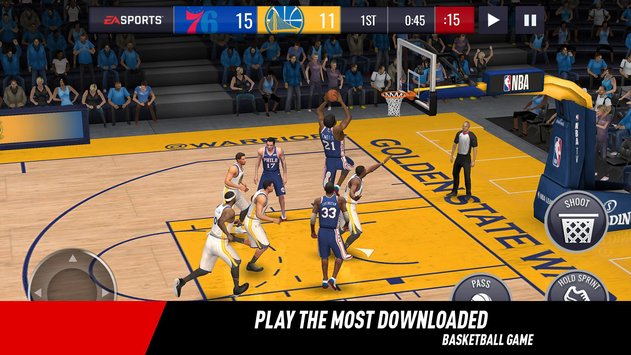 NBA LIVE Mobile Basketball скачать