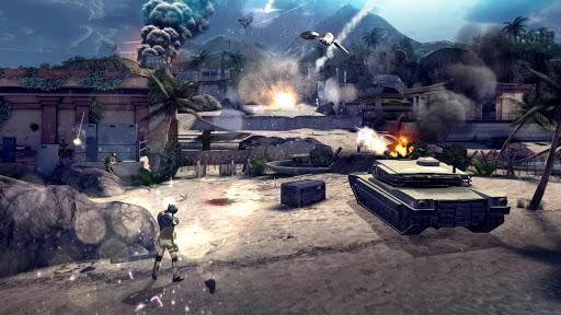 Modern combat 4 андроид