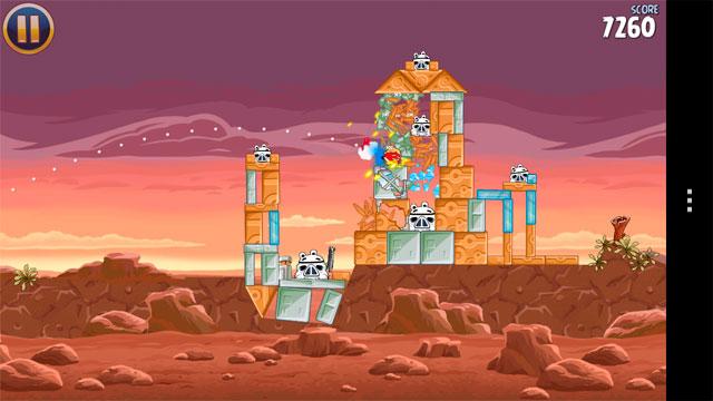 Angry Birds Star Wars для андроид