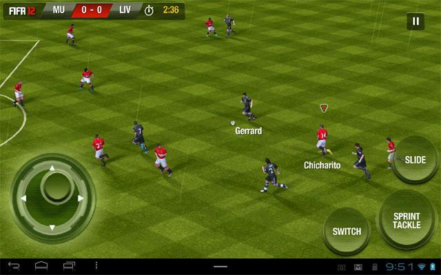 Fifa 2012 на android