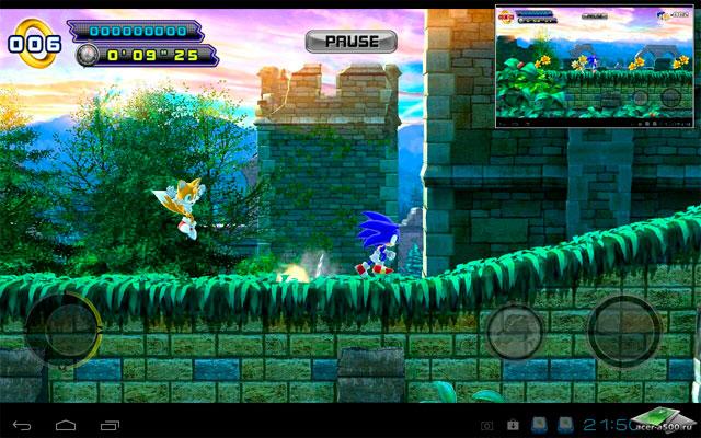 Sonic 4 Episode 2 на Андроид